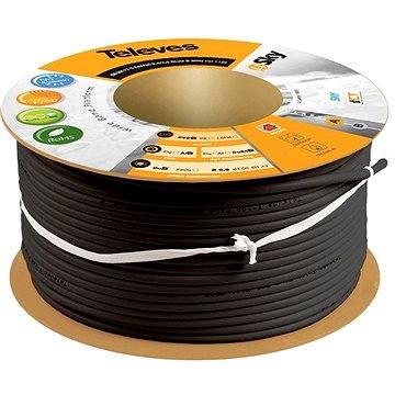 Televés koaxiální kabel 2155-100m (2155-100m black)