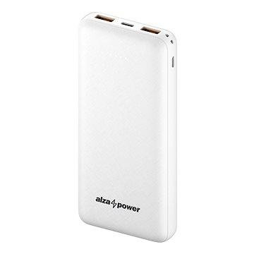 AlzaPower Onyx 20000mAh Fast Charge + PD3.0 bílá (APW-PBO20CFW)