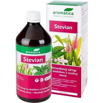 AROMATICA Jitrocelový sirup Stevian se sladidlem z rostliny stévie od 3 let 210ml (2783869)