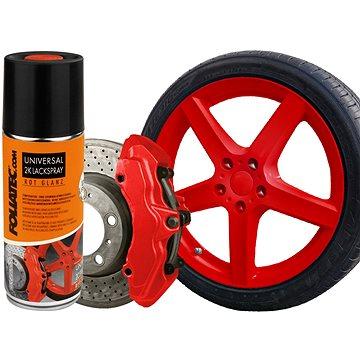 FOLIATEC - barva na brzdy ve spreji - červená (2130)