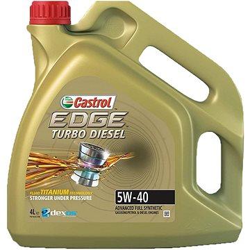CASTROL EDGE Turbo Diesel 5W-40 TITANIUM FST 4 lt (CETTD544)