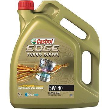CASTROL EDGE Turbo Diesel 5W-40 TITANIUM FST 5l (CETTD545)