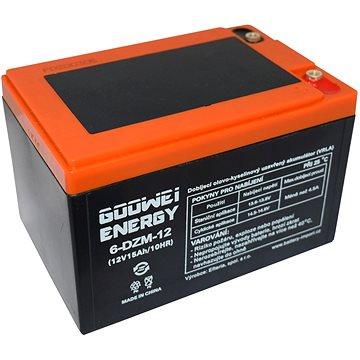 GOOWEI ENERGY 6-DZM-12, baterie 12V, 15Ah, ELECTRIC VEHICLE (6-DZM-12)