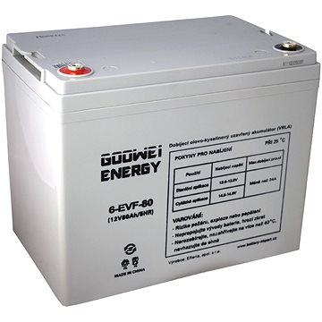 GOOWEI ENERGY 6-EVF-80, baterie 12V, 80Ah, ELECTRIC VEHICLE (6-EVF-80)