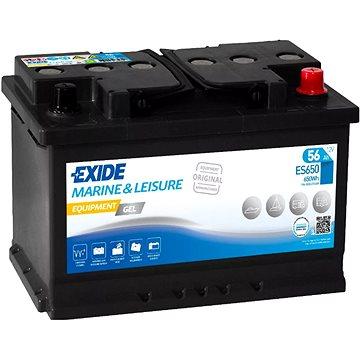 EXIDE EQUIPMENT GEL ES650, baterie 12V, 56Ah (ES650)