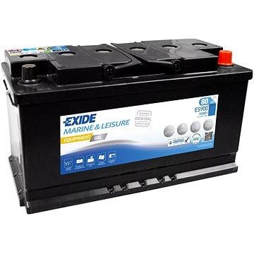 EXIDE EQUIPMENT GEL ES900, baterie 12V, 80Ah (ES900)