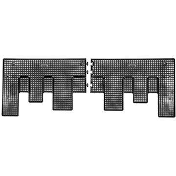 RIGUM FORD Custom 18- gumové koberečky černé (pro 2. řadu sedadel, sada 2 ks) (1989X12B)