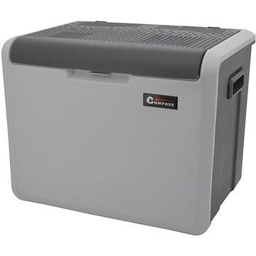 COMPASS Chladící box 40litrů TAMPERE 230/12V pojízdný (8591686071320)