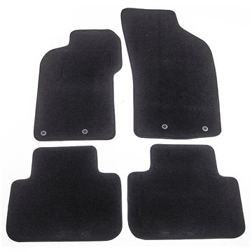 ACI textilní koberce pro ALFA ROMEO 147 00-05 černé (sada 4 ks) (0147X62)