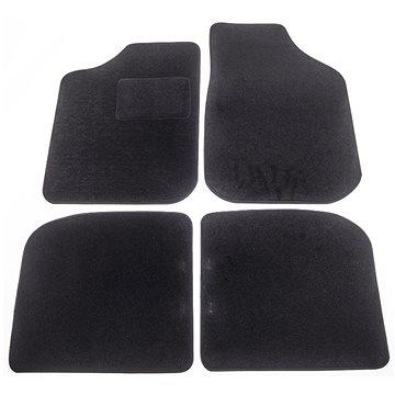 ACI textilní koberce pro AUDI 100 200 82-90 černé (sada 4 ks) (0312X62)