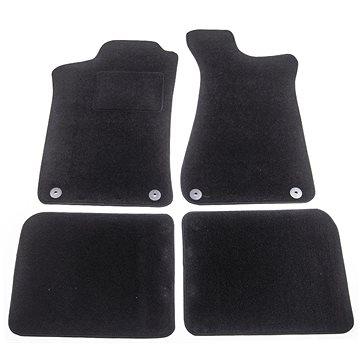 ACI textilní koberce pro AUDI 80 91-94 černé (sada 4 ks) (0322X62)
