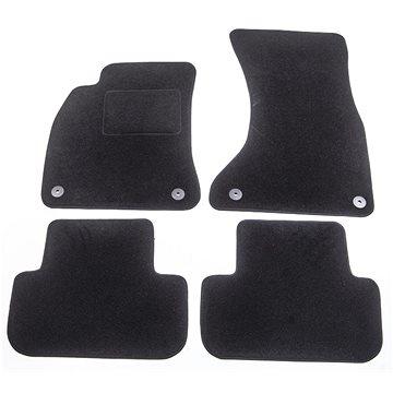 ACI textilní koberce pro AUDI A4 07-12 černé (sada 4 ks) (0327X62)