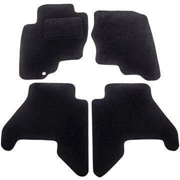 ACI textilní koberce pro NISSAN Pathfinder R51, 05 černé (sada 4 ks) (3354X62)