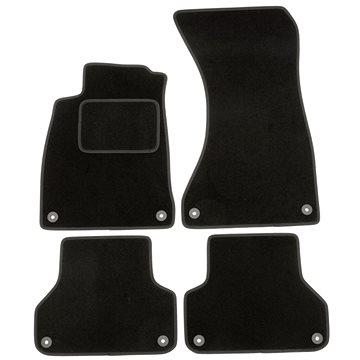 ACI textilní koberce pro AUDI A4 15- černé (0346X62)
