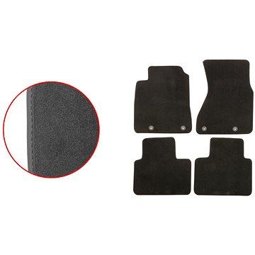 ACI textilní koberce pro AUDI A8 03-10 EXCLUSIVE (pro kulaté příchytky) sada 4 ks (0351X62E)