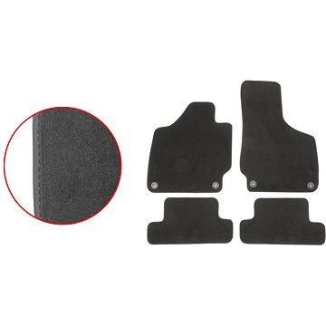 ACI textilní koberce pro AUDI TT 06-14 EXCLUSIVE (pro kulaté příchytky) sada 4 ks (0379X62E)