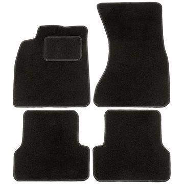 ACI textilní koberce pro AUDI A6 18- černé (sada) (0356X62)