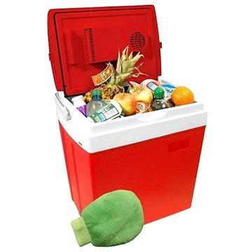 COMPASS Chladící box RED displej s teplotou (07125)