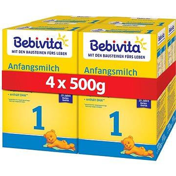 BEBIVITA 1 Počáteční kojenecká výživa 0m+ 4× 500 g (4018852026716)