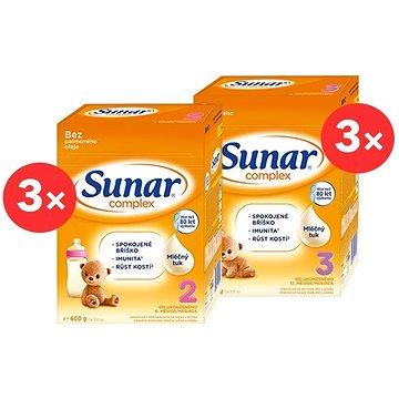 Sunar Complex 2 (3× 600 g) Sunar Complex 3 (3× 600 g) (8592084416683)