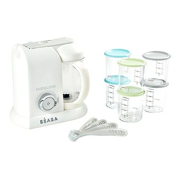 Beaba BABYCOOK White Silver Limited Edition (3384349127909)