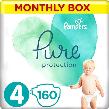 PAMPERS Pure Protection vel. 4 (160 ks) (8001841115979)