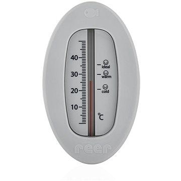 REER Teploměr do koupele ovál šedý (4013283241127)