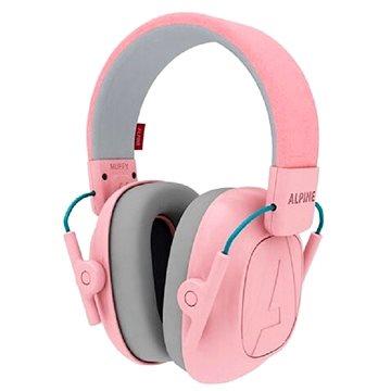 ALPINE MUFFY - Dětská izolační sluchátka růžová model 2021 (8717154026481)
