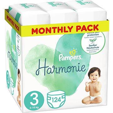 PAMPERS Harmonie vel. 3 (4× 31 ks) (BABY169298s)