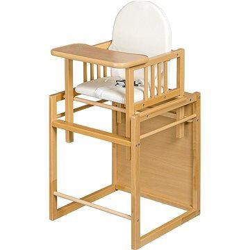 New Baby Buková židlička Victory - přírodní (8596164002650)