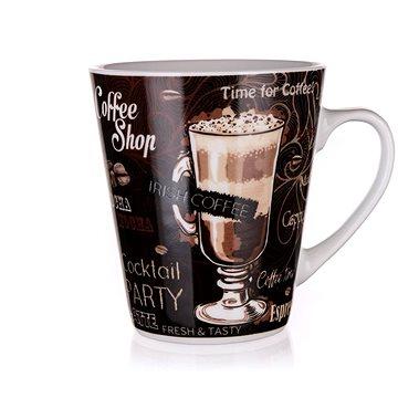 BANQUET Hrnek keramický COFFEE 360 ml, hnědý, 6ks (60223102)