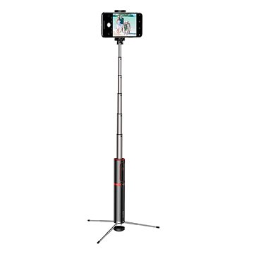 Baseus Fully Folding Selfie Stick Black/Red (SUDYZP-D19)