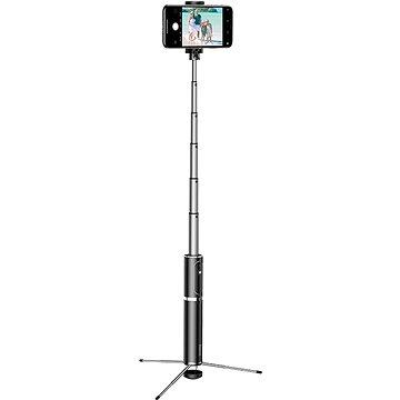 Baseus Fully Folding Selfie Stick Black/Silver (SUDYZP-D1S)