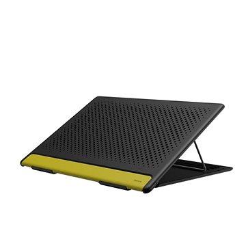 "Baseus Portable Laptop Stand, Gray&Yellow 15"" (SUDD-GY)"