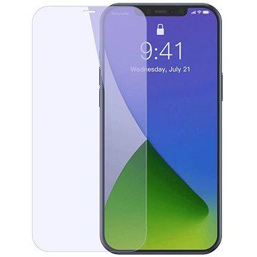 """Baseus Full-glass Anti-bluelight Tempered Glass pro iPhone 12 Pro Max 6.7"""" (2 ks) (SGAPIPH67N-LF02)"""