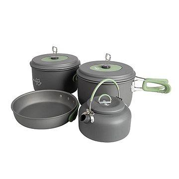 Bo-Camp Cookware set Explorer 4-pc w.kettle (8712013102498)