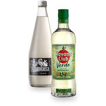 Havana Club Verde 35% 0,7l + Tonic Bohemsca 0,7l (7020292531010)