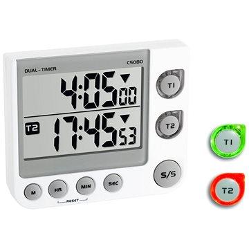 TFA Digitální minutka – časovač a stopky – 2 časy TFA38.2025 (TFA38.2025)