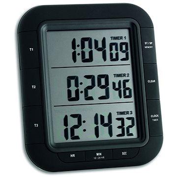 TFA Digitální minutka – časovač a stopky – 3 časy TFA38.2023 (TFA38.2023)