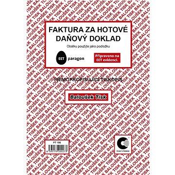 BALOUŠEK Faktura za hotové - daňový doklad (PT198)