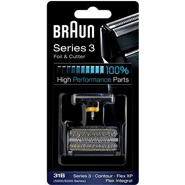 Braun CombiPack FlexIntegral-31S, stříbrná (81387940)