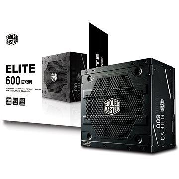 Cooler Master ELITE 600W 230V - V3 (MPW-6001-ACABN1-EU)