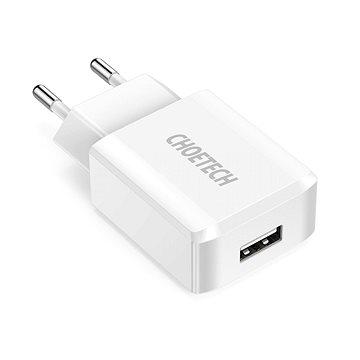 ChoeTech Smart USB Wall Charger 12W White (Q5002-EU-BK)