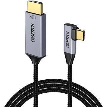 ChoeTech USB-C to HDMI 90° Thunderbolt 3 Compatible 4K@60Hz Cable 1.8m (XX-XCH-1803-BK)