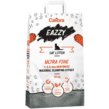 Calibra EAZZY Cat podestýlka Ultra Fine 10kg (8594062086406)
