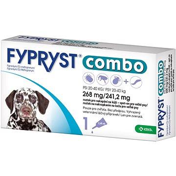 Fypryst Combo spot on pes 20-40kg 1 × 2,68 mg (3838989680275)