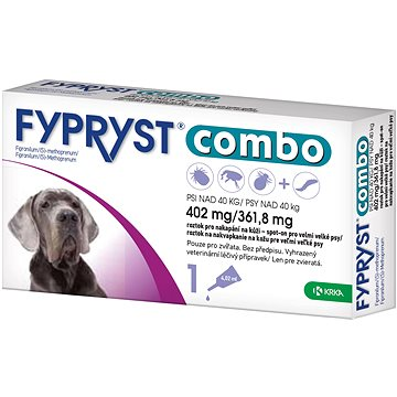 Fypryst Combo spot on pes nad 40 kg 1 × 4,02 mg (3838989680299)