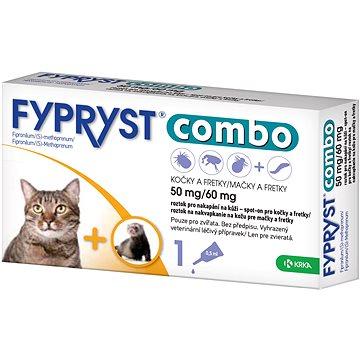 Fypryst Combo spot on kočka 1 × 0,5 ml (3838989680343)