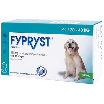 Fypryst spot on pes 20-40 kg L 1 × 2,68 ml (5909990859009)