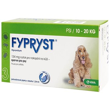 Fypryst spot on pes 10-20 kg M 1 × 1,34 ml (5909990858958)